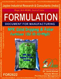NPK solid Dripping & Foliage Fertilizer (32-10-10+MgO)