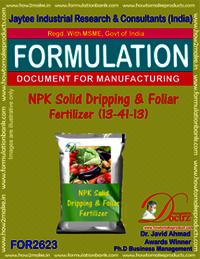NPK solid Dripping & Foliage Fertilizer (13-41-13)