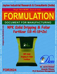 NPK solid Dripping & Foliage Fertilizer (13-41-13+Zn)