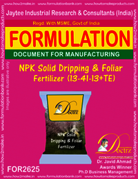NPK Solid Dripping & Foliage Fertilizer (13-41-13+TE)