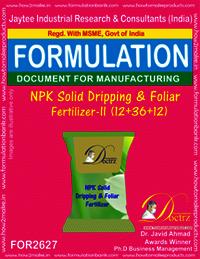 NPK Solid Dripping & Foliage Fertilizer-II (12-36-12)