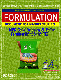 NPK Solid Dripping & Foliage Fertilizer (12-36-12+TE)