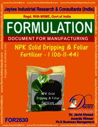 NPK Solid Dripping & Foliage Fertilizer-I (06-11-44)