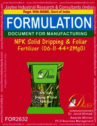NPK Solid Dripping & Foliage Fertilizer (06-11-44+2MgO)