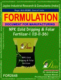 NPK Solid Dripping & Foliar Fertilizer-I (13-11-36)