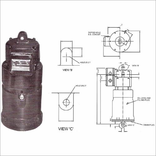 Electro Hydraulic Thruster Diagram