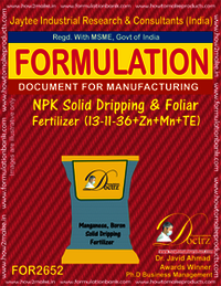 NPK Solid Dripping & Foliar Fertilizer (13-11-36+Zn+Mn+TE)