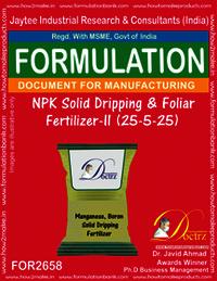 NPK Solid Dripping & Foliar Fertilizer-II (25-5-25)