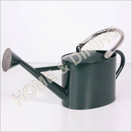 Green Paint Watering Can