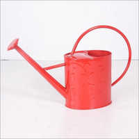 Red Paint Watering Can
