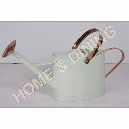 White Paint Watering Can
