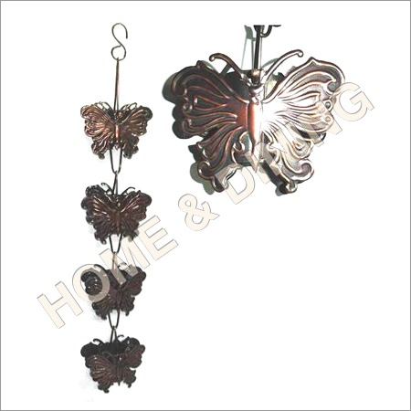 Rain Chain Butterfly Garden Item