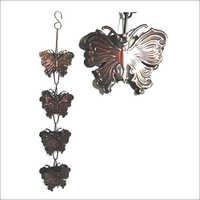 Rain Chain Butterfly Garden Item