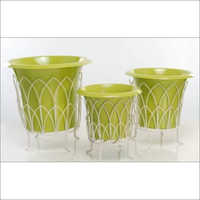 Lemon Green Color Garden Planter