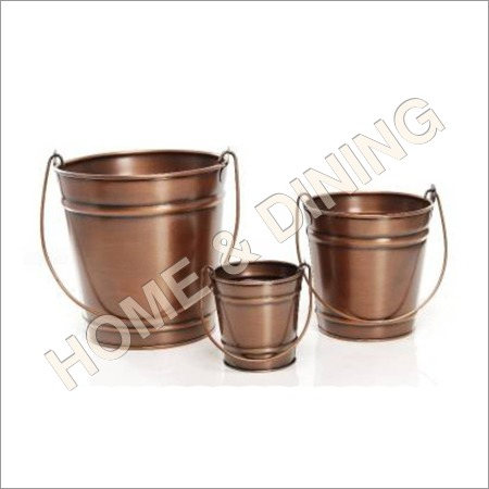 Copper Antique Planter Set of 3