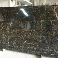 Golden Waterfall Portoro Marble