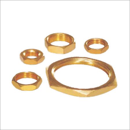 Precision Brass Check Nut