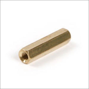 Precision Brass Pillar Nut