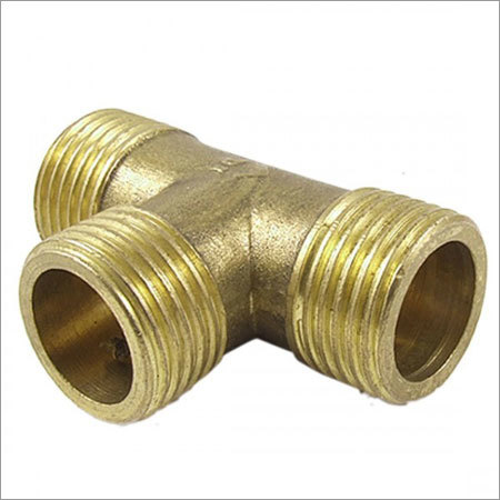 Brass Tee Male