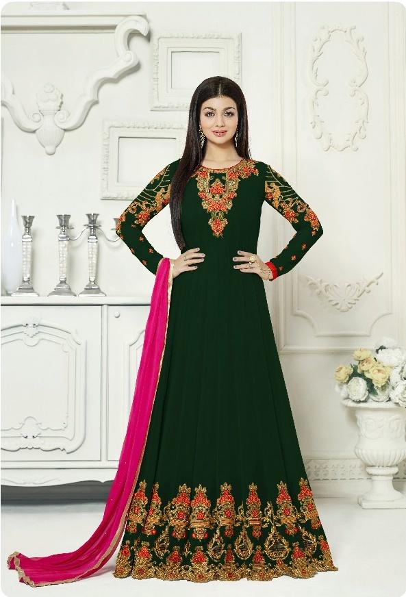 Aashirwaad Noorjahan Premium Black Floor Length