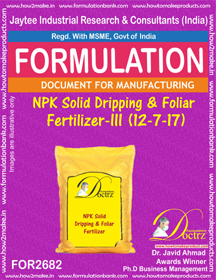 Micro Nutrients & Fertilizer Formulations