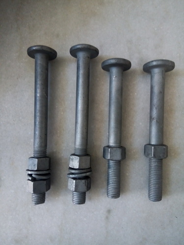 Step Bolts With Nuts