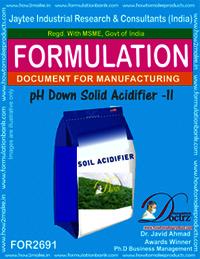 pH Down Soil Acidifier- II
