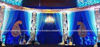 The Piasley Wedding Stage
