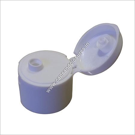 White Threaded Flip Top Cap