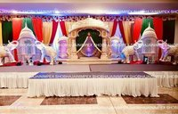 South Indian Wedding Stage