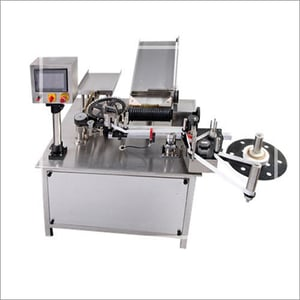 Automatic Ampoule Vial Rotary Sticker Labeling Machine