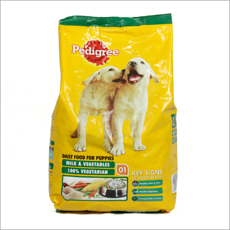 Pedigree Puppy Milk Vegetables Dog Food
