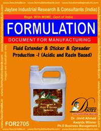 Fluid Extender & Sticker And Spreader Production I