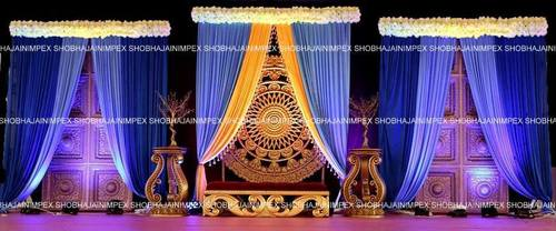 Mughal Door Wedding Stage