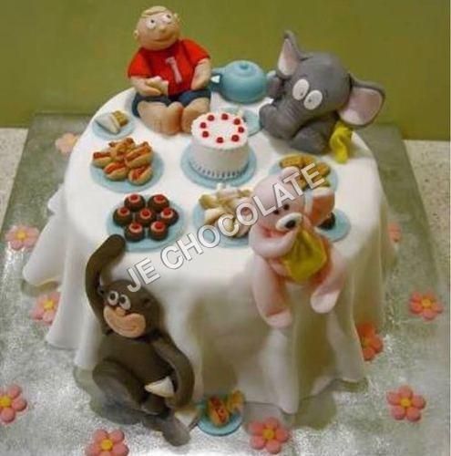 Maspan Animal Design Cake Workshop