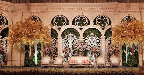 Modern Wedding Stage