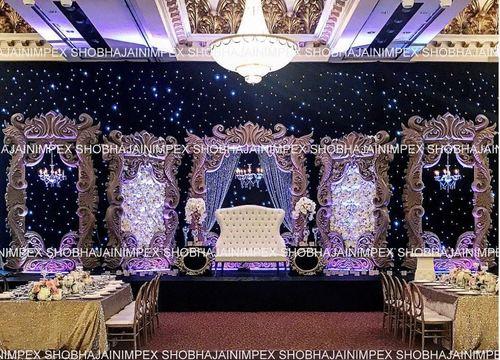 Modern Wedding Frame Stage