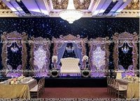 Modern Wedding Frame Stage