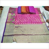 Banarasi Cotton Monica Saree
