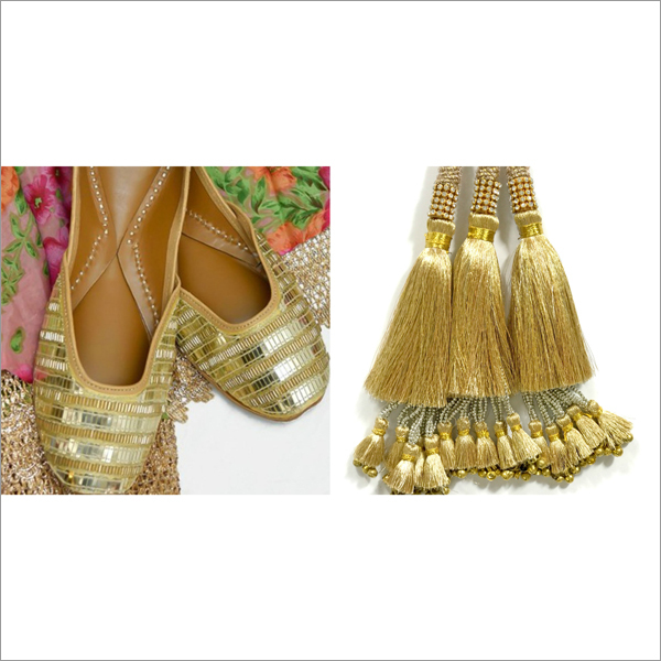 Punjabi Jutti & Matching Accessories