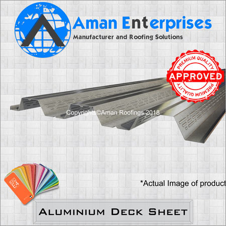 Aluminium Deck Sheet