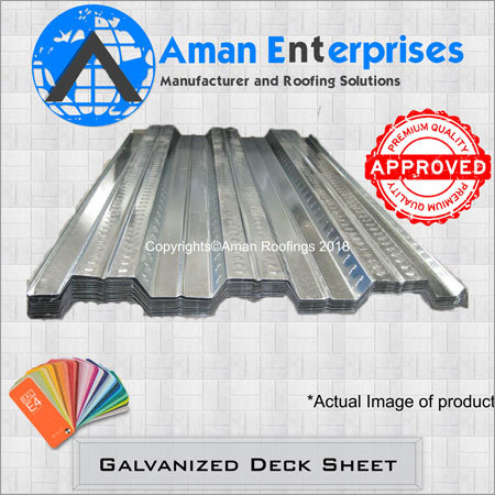 Galvanized Deck Sheet