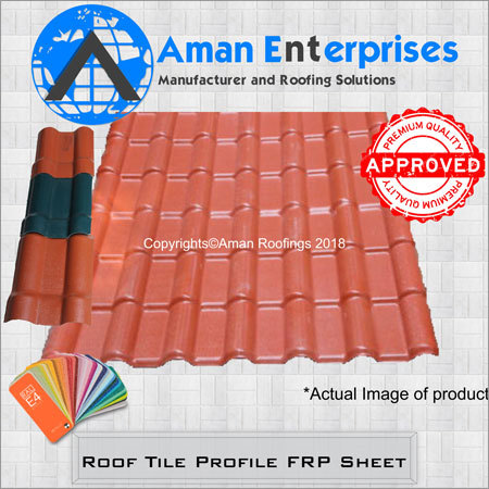 Roof Tile Profile FRP Sheet