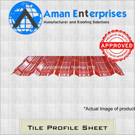 Kavelu Tile Profile Sheet