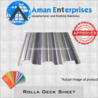 Rolla Deck Sheet
