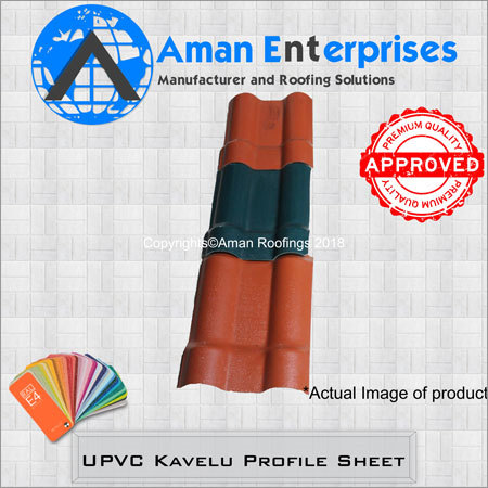 UPVC Kavelu Profile Sheet