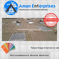 Polycarbonate Shade Service