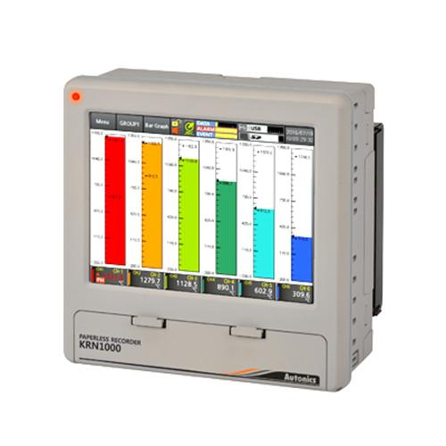 AUTONICS LCD Touchscreen Paperless Recorder KR1000 Series