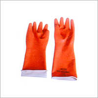 Colored Rubber Hand Gloves