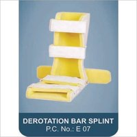 DEROTATION BAR SPLINT